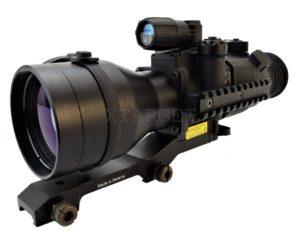 Прицел ночного видения Pulsar Phantom 4×60 BW 2+, ч/б ЭОП, Weaver long