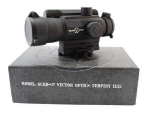 Коллиматорный прицел Vector Optics Tempest 1×35 Four Reticle Sight (SCRD-07)