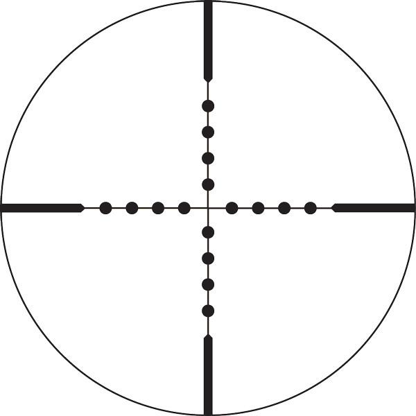 Сетка определения расстояний Mil-Dot (теория и метод определения)