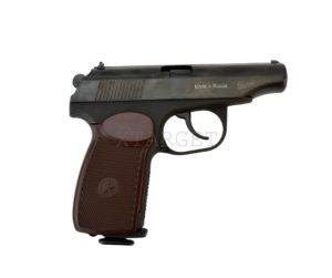 Пневматический пистолет Макаров МР-654К, коричневая рукоять, код air