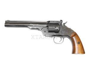 Револьвер пневматический ASG Schofield 6″ Pellet, Корпус – металл, код 2370.28.20