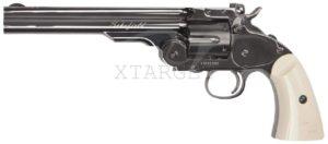 Револьвер пневматический ASG Schofield 6″ шарики ВВ, код 2370.28.21