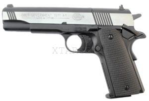 Пневматический пистолет Umarex Colt Goverment 1911 Dark Ops, код 417,00,20
