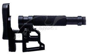 Приклад MDT Skeleton Carbine Stock 9.75''. Материал — алюминий. Цвет — черный, код 1728.00.77