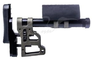 Приклад MDT Skeleton Carbine Stock 11.75''. Материал — алюминий. Цвет — песочный, код 1728.00.82