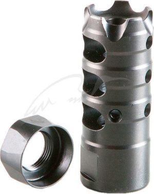 Ульный тормоз-компенсатор POF-USA для AR-10 (.308 Win/7.62×51 NATO) с дульной резьбой 5/8″-24 UNEF, код 30.11.22