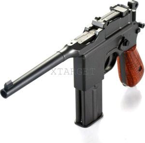 Пистолет пневм. SAS Mauser M.712 4,5 мм Blowback!, код 2370.14.37