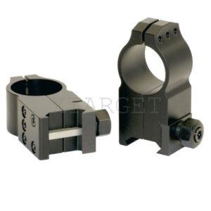 Крепление Warne Tactical Fixed Ring 30мм. Extra High стальное ц:black, код 2370.02.27