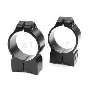 Крепление Warne Fixed Ring 2,54см. Low стальное, код 2370.02.18