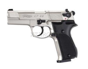 Пневматический пистолет Walther CP88 nickel, код 416,00,03