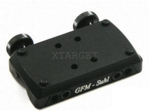 Легкосъемное крепление GFM для прицела Docter Sight на планку 6 мм, код 3337.05.39