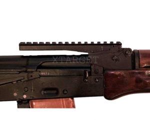 Планка-целик АК 2000 для АК; РПК; Сайга; Вепрь. Weaver/Picatinny 16 см, код 3681.00.53