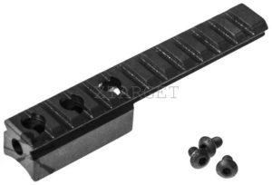 Планка АК 2000 для винтовки Мосина. Weaver/Picatinny 21 мм. Длина – 12,9см, код 3681.00.56