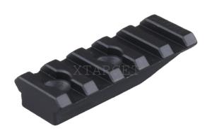 Планка Spuhr A-0003 Пикатинни, 55 мм, алюм., 5 слотов, выс.10 мм, для, код 3728.00.05
