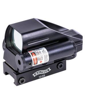 Коллиматорный прицел Walther с лазером №103В, код 103