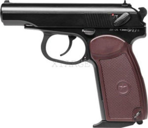 Пистолет пневм. SAS Makarov Blowback, 4.5 мм, код 2370.24.41