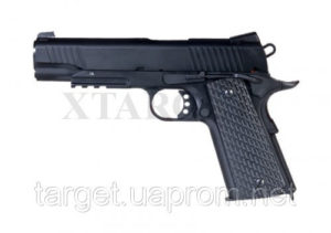 Пистолет пневм. SAS M1911 Tactical 4,5 мм, код 2370.14.29