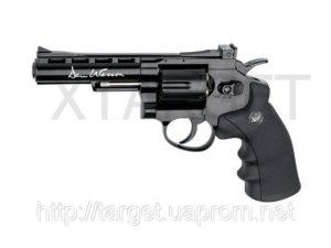"Револьвер пневматический ASG Dan Wesson 4"" Black 4,5 мм, код 2370.25.23"