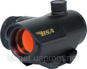 Прицел колл. BSA-GUNS закрытый, 20 мм, три цвета марки, 5 МОА, код 2192.02.06