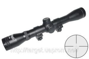 Оптический прицел Walther 4×32 армированый ,с креплением, код 2,1509