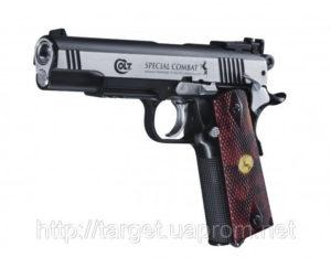 Пистолет пневматический Colt Special Combat Classic, код 5,8096