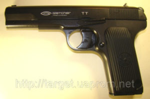 Пневматический пистолет Gletcher TT, код