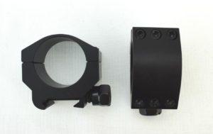 Крепление кольца Vector Optics Tactical 30 mm Weaver, ультра низкие (SCTM-19), код SCTM-19