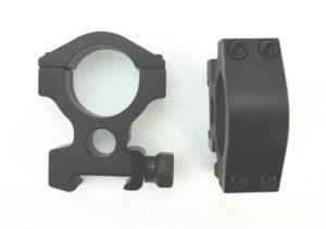 Крепление кольца Vector Optics Tactical 25,4 mm Weaver, высокие (SCTM-02), код SCTM-02