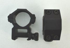 Крепление кольца Vector Optics 25,4 mm Weaver, высокие (SCOT-52D), код SCOT-52D