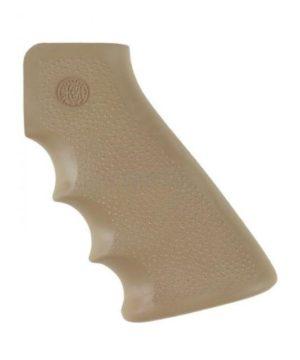 Рукоятка пистолетная Hogue для AR15, прорезиненная ц:песочный, код 1568.09.32