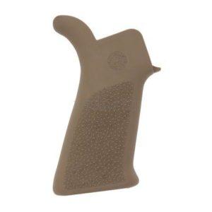 Рукоятка пистолетная Hogue для AR-15 прорезиненная ц: песочный, код 1568.09.35