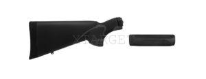 Комплект приклад и цевье Hogue OverMolded Remington 870 KIT (приклад, цевье) для 20к ц:черный, код 1568.09.45