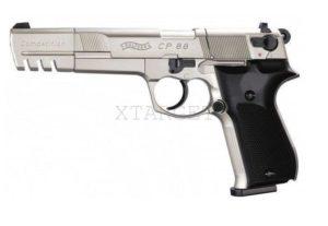 "Пневматический пистолет  WALTHER CP88 6"" Compatition nickel, код 416,00,08"