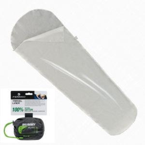 Вкладыш для спального мешка Ferrino Liner Travel Mummy White, код 924404