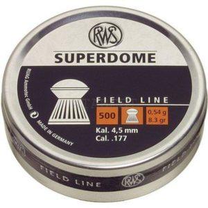 Пули RWS Superdome 4.5 мм, 500шт.уп, код um