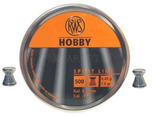 Пули RWS Hobby 0,45 гр., 500шт., код um