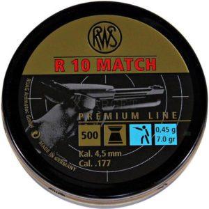 Пули RWS R10 Match 0.45 гр , 500шт., код um