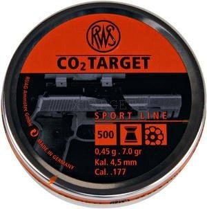 Пули RWS CO2-Target 0.45 гр , 500шт., код um