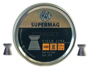 Пули RWS Supermag 0.6 гр , 500шт., код um