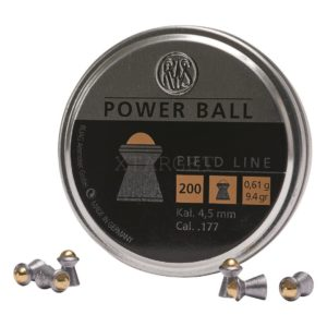 Пули RWS Powerball 0.61 g. , 200шт., код um