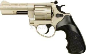 Револьвер флобера ME 38 Magnum 4R никель, пластик. рукоятка, 241189, 4 мм, код 1195.00.20