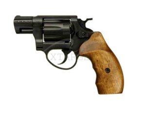 Револьвер флобера ME 38 Pocket 4R черный, дерев. рукоятка, 240129, 4 мм, код 1195.01.26
