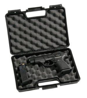 Кейс Negrini пистолетный, пластик с поролоном, 29х18.5х7.5, код 2026