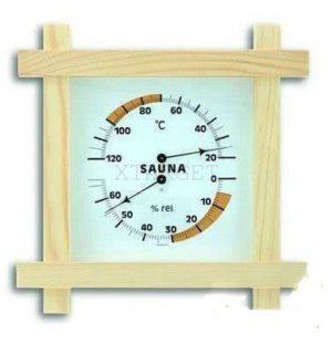 Термогигрометр для сауны TFA, дерево, 180х45х200 мм, код 40105101