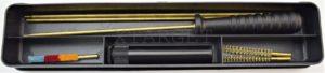 Набор для чистки Mega line 4,5 mm пласт. короб, латуный шомпол, код 1425.00.90