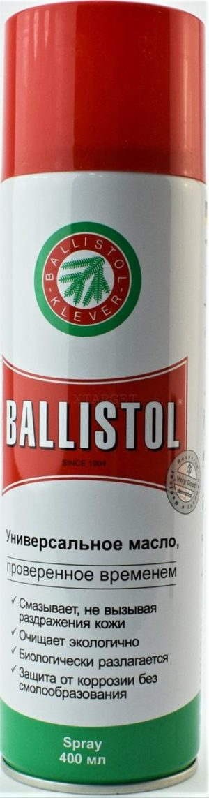 Масло Clever Ballistol 400мл. ружейное, спрей, код 429.00.25