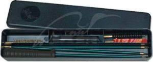 Набор для чистки MEGAline 7к. деревянная коробка, шомпол в оплетке, код 1425.01.50
