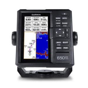 """Эхолот Garmin FF 650 GPS, Эхолот + GPS. CHIRP (77/200 кГц) дисплей 6"""", высокочувствительный GPS-приемн., код 010-01710-01"""