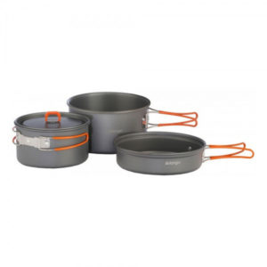 Набор посуды Vango Hard Anodised Adventure Cook Kit Grey, код 925250