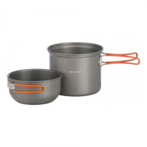 Набор посуды Vango Hard Anodised Cook Kit 1 Person Grey, код 925251